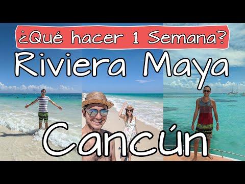 Qué hacer en Cancún 🏖️ Itinerario 1 semana en Riviera Maya ✅ Playas, Cenotes, Islas, Ruinas y más!