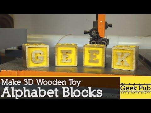 Make Alphabet Blocks