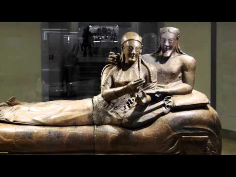 Sarcophagus of the Spouses, c. 520 B.C.E.