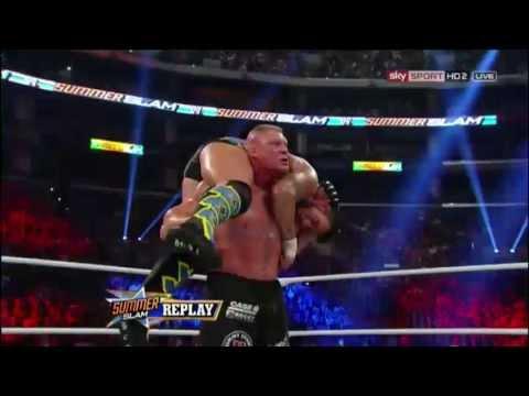 CM Punk VS Brock Lesnar (Summerslam 2013)...