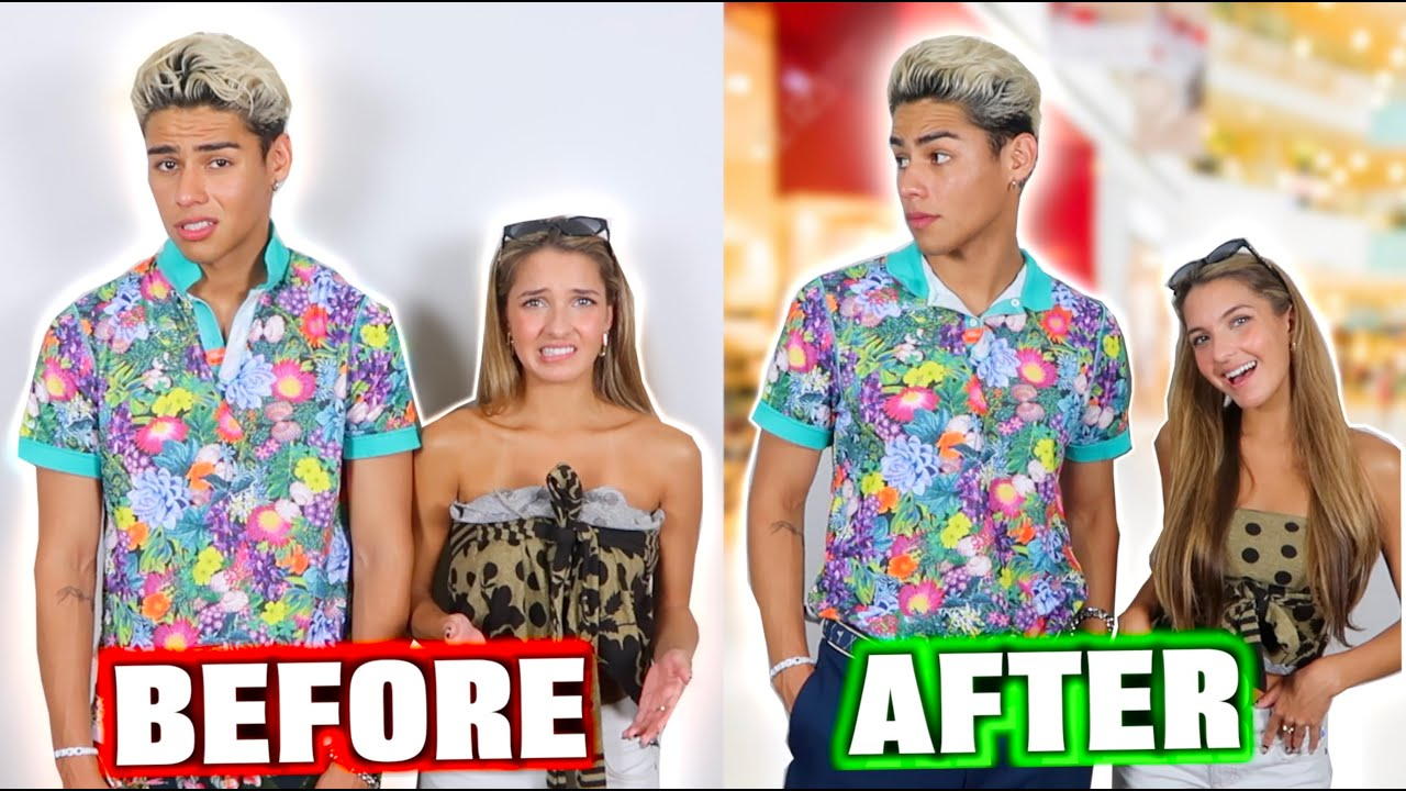 Making Ugly Clothes Cute Challenge!! w/ Lexi Rivera