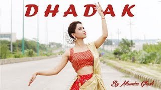 Dance on dhadak title track | Kathak dance choreography | By Mounica Ghosh