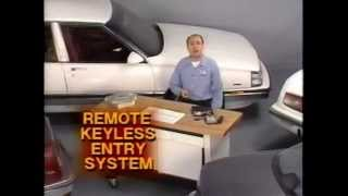 Buick - Remote Keyless Entry Systems (1989)