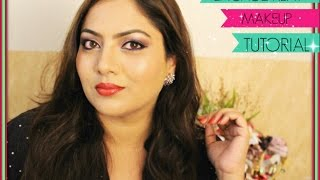 💜Soft Engagement Makeup Tutorial | Indian Makeup |Trystwithvanillagirl