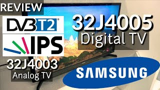 REVIEW SAMSUNG 32J4005 DAN 32J4003 LED TV 32 indonesia HD
