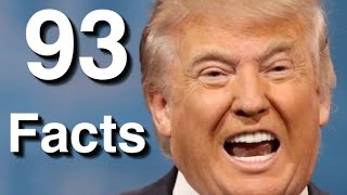 Donald Trump: 93 Facts About Republican Presidential Candidate Donal Trump (Tomo News US)