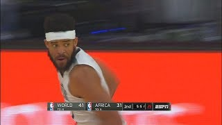 Javale McGee Hits the 3 Pointer! 2018 NBA Africa Game