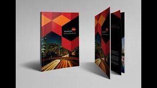 Fantastic Flyer Brochure Booklet Poster Design in CorelDraw X6 X5 X7 X8