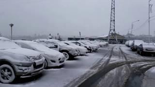 Погода каждый день Иркутск, Irkutsk, 18.04.2017, Утро, Снег, Метель, #mreporter