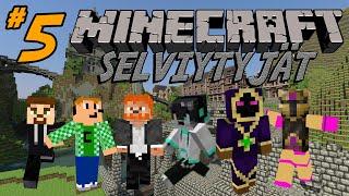 Minecraft Selviytyjät - Osa 5 - Juoksentelen aina kun puhun