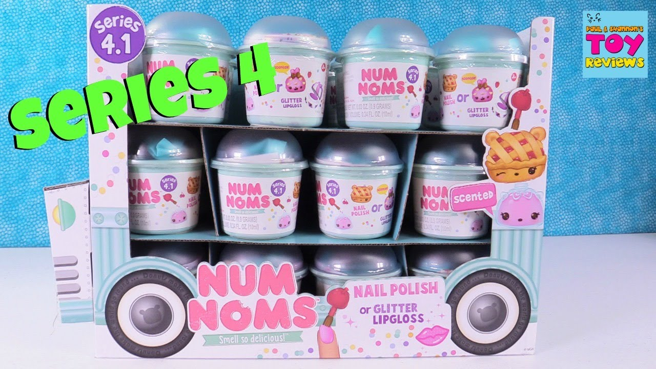 Num Noms Series 4 Opening Blind Bag Toy Review Scented Fun