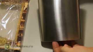 видео Фляга из нержавеющей стали 750 мл купить арт. 52020. Блэк+Блам. Water Bottle Large белый лайм