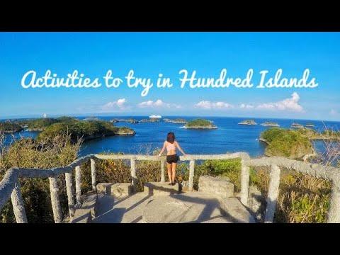 Activities To Try in Hundred Islands - Hero 5 Black in 4K