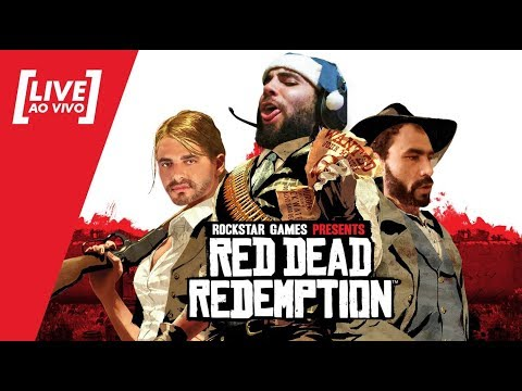 [LIVE]Red Dead Redemption PT#02 - Aprendendo a brincar no rancho - 22/09/2017