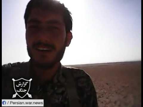 Afghan militias of IRGC in Tadmur, Syria
