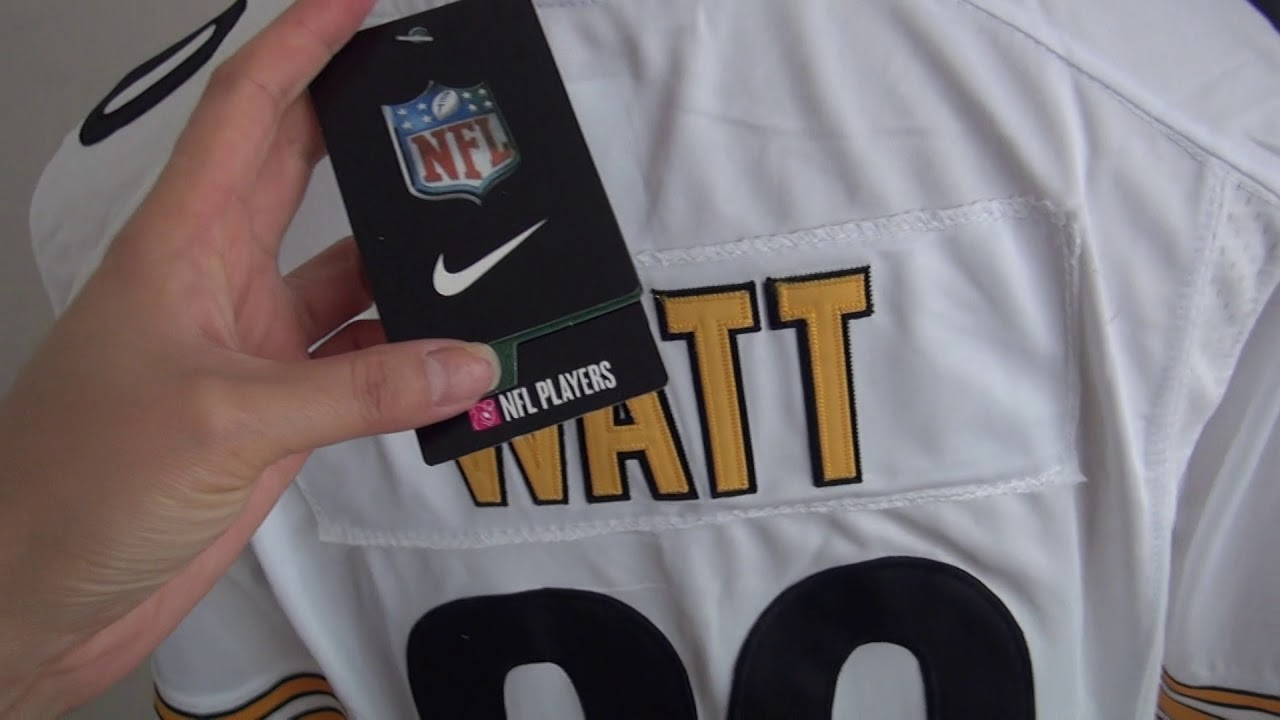 5c656a92662 Men s 2017 NFL Draft Pittsburgh Steelers  90 T. J. Watt White NFL Jersey  unboxing-jerseys.ru review