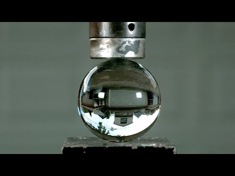 Crushing Crystal Balls with Hydraulic Press - in 4K Slow Motion (S1 E6)