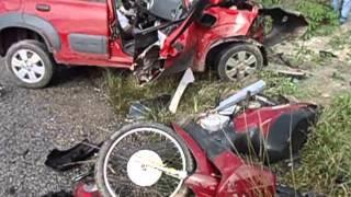 CENAS FORTES: Acidente deixa dois mortos em Penedo