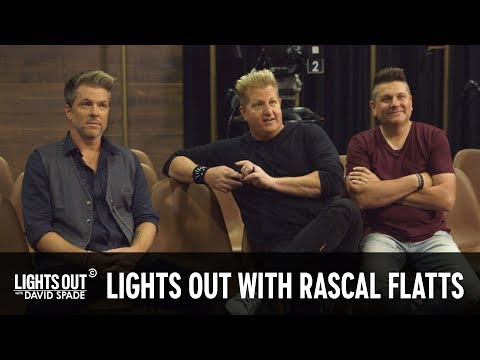 Bob Delmont - Rascal Flatts interviews as the house band for David Spade's new show