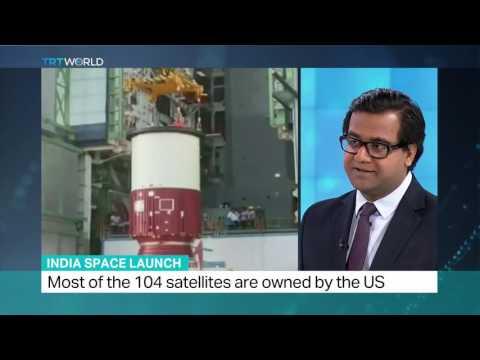 Global media reaction to ISRO World Record 104 Satellite Launch