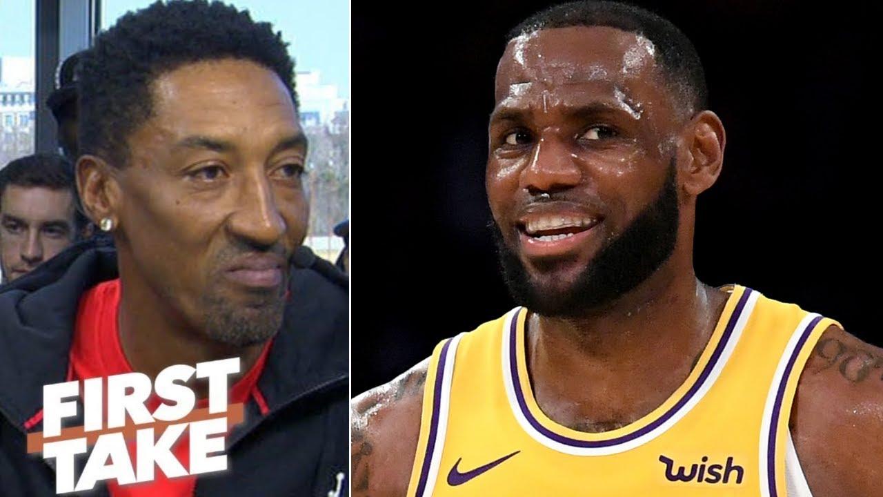 7e6a845e1a6 LeBron James doesn't have the 'clutch gene' like Jordan or Kobe - Scottie  Pippen | First Take