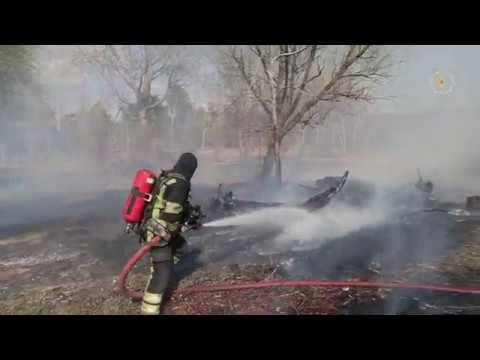 2020.04.11 60 focare de vegetație au fost stinse de pompieri în ultimele 24 de ore