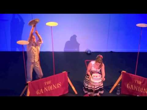 Circus Plate Spinning routine - Sydney based short show