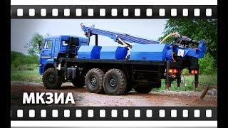 Мобильный комплекс забуривания и испытания  анкеров «МКЗИА» на шасси КАМАЗ 43118