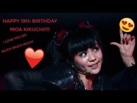 Happy 19th Birthday Moa Kikuchi!!!!