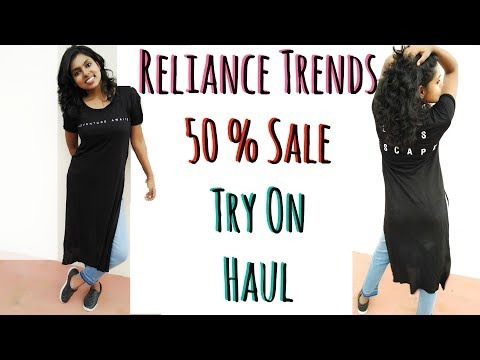 Reliance Trends Shopping Haul – Sale Try on Haul & Online Website Review | AdityIyer