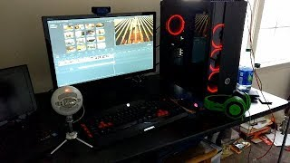 $2200 GAMING SETUP!!! CYBERPOWERPC Gamer Xtreme VR GXiVR8080A2!!!! MY FIRST GAMING PC