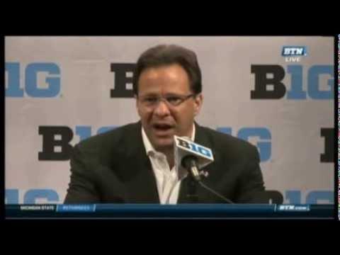 Big Ten Basketball Media Day: Tom Crean Press Conference