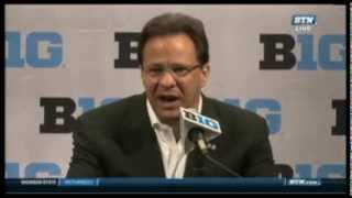 Big Ten Basketball Media Day: Tom Crean Press Conference