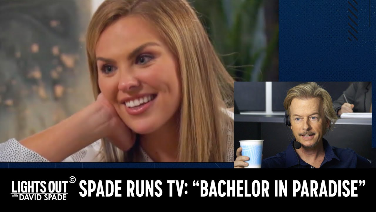 "How They Really Make ""Bachelor in Paradise"" - Lights Out with David Spade"