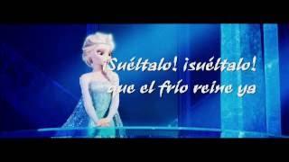 Frozen: El Reino del Hielo - ¡Suéltalo! (Letra)
