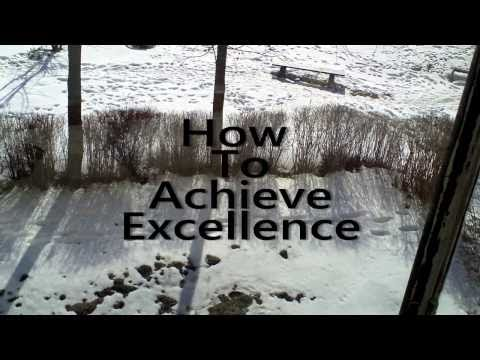 How To Achieve Excellence (Pancakes Edition)