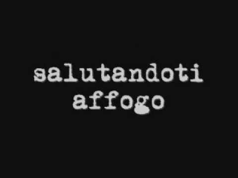 Tiziano Ferro - Salutandoti affogo (testo)