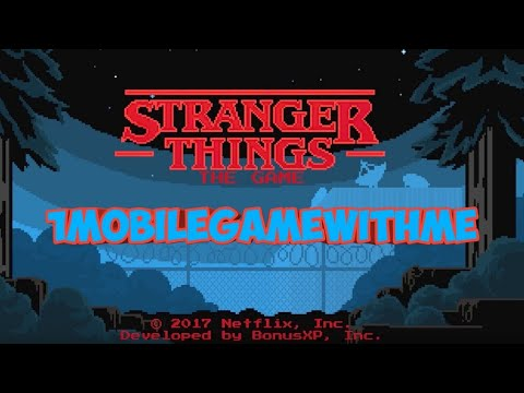 My Stranger Things tribute short film coming soon 🤓1 mobile game with me😉