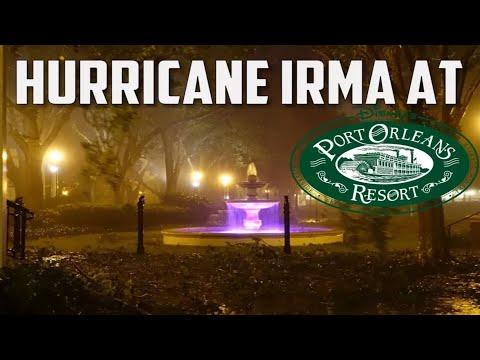 Hurricane Irma Hits Disney's Port Orleans Riverside Resort.