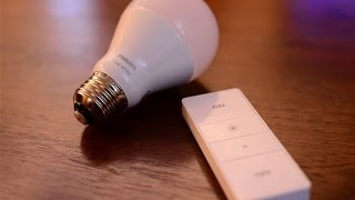 Philips Hue Dimmer Switch & White Bulb - [Review]