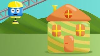 Dom - Tom i Matt pojazdy budowlane | Kreskówki o budowaniu dla dzieci