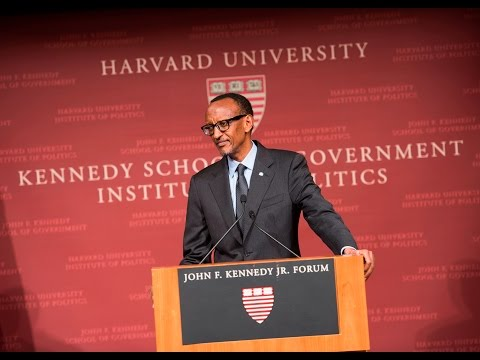 President Kagame speaks on democracy at the Harvard Institute of Politics | Boston, 26 February 2016