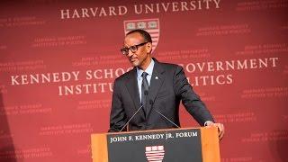 Ijambo President Kagame yavugiye muri kaminuza ya Harvard Institute of Politics | Boston, 26 gashyantare 2016
