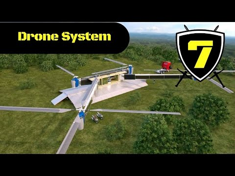 Russian Drone System Concept Ship Attack Simulation