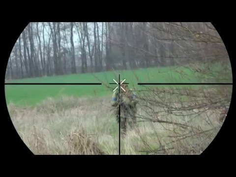 Airsoft scopecam m24 Snow Wolf нарезка попаданий