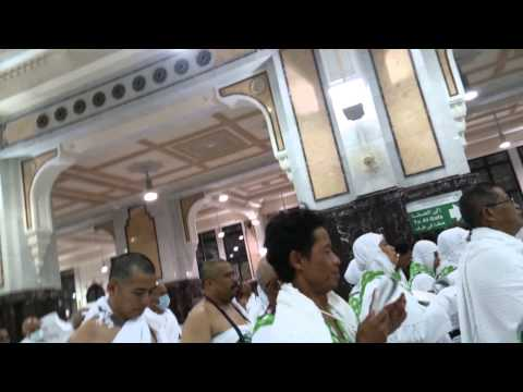INDONESIAN HAJ GROUP AT SAFA & MARWA 2014//1435