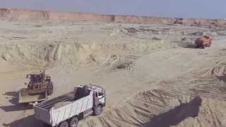New Suez Canal: a scene in drilling October 27, 2014