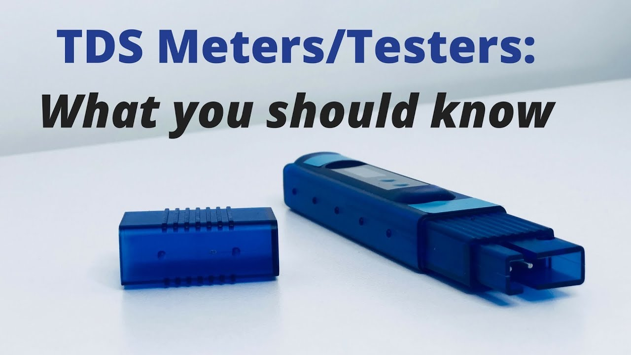 Please Stop Using Tds Or Ppm Testers To Evaluate Water Quality