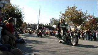 BBB 2010 Bike parade, Fayetteville AR - Part 1