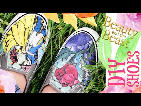 Diy Disney Water Color Shoes With The Cricut Explore Air 2